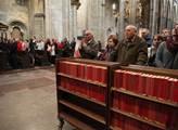 Mše na sv. Vojtěcha. Kardinál Dominik Duka udělil ...