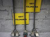 Prohlídka krytu Folimanka s kapacitou 1300 lidí. K...