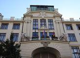 Budova Nové radnice, sídla pražského magistrátu