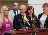 Hnutí Úsvit - Národní koalice představilo svou kan...