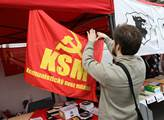 Příznivci KSČM slavili 1. máj jako již tradičně v ...