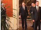 Prezident Miloš Zeman jmenoval na Pražském hradě B...