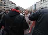 Demonstrace proti odtržení Kosova od Srbska s názv...