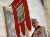 Svatováclavská mše v bazilice svatého Jiří na Praž...