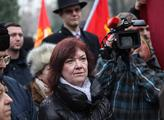 """Příznivci komunistů uctili památku """"Vítězného únor..."""