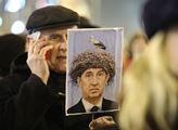 Demonstrace za zachování svobody slova a médií v r...