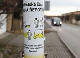 Na procházce po městské části Praha Řeporyje, kde ...