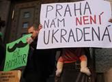 Akce Praha nám není ukradená! Její pořadatelé odmí...