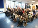 Konference Média a moc pořádaná v Evropském domě p...