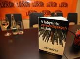 Kniha  V labyrintu zpravodajských služeb Jiřího Rů...
