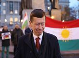 Demonstrace proti Erdoganovi a za svobodný Kurdist...