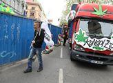 Pochod a demonstrace za legalizaci konopí s názvem...