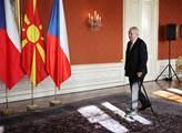 Prezident republiky Miloš Zeman