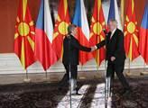 Prezident republiky Miloš Zeman přivítal na Pražsk...