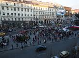 Příští protest nebude v sobotu, varuje odborář. Chce ochromit Prahu