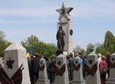 Pietní akce v Den vítězství napříč Prahou