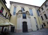 Odsvěcený kostel sv. Michaela nedaleko Staroměstsk...