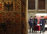 Prezident Miloš Zeman odemkl Korunní komoru, odkud...