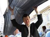 Protest Ne tunelu Moskva-Dukovany. Měl varovat pře...