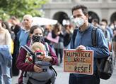 Stávka za klima, kterou organizovalo hnutí Fridays...