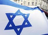 Shromáždění na podporu Izraele na náměstí Franze K...