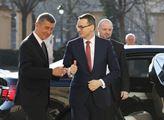 Premiér Česka Andrej Babiš a premiér Polska Mateus...