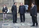 Poslední rozloučení s bývalým premiérem Stanislave...