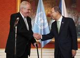 Prezident Miloš Zeman přijal generální tajemníka O...
