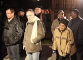 Pietní shromáždění u pomníku obětem komunistického...