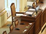 Křeslo předsedajícího poslanecké schůzi