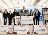 TOP 09 představila své kandidáty do Evropského par...