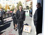 Pohřeb Jana Kočky ml., který zemřel při autonehodě...