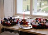 Alternativy vánoční výzdoby na stůl před prezident...