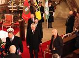 Kardinál Dominik Duka odsloužil v lánském kostele,...