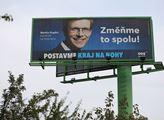 Volební kampaň do krajských a senátních voleb v po...