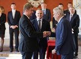 Prezident Miloš Zeman jmenoval Tomáše Petříčka min...