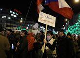 Milion chvilek pro demokracii na Václavském náměst...