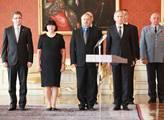 Prezident Václav Klaus jmenoval na Pražském hradě ...