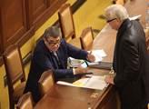 Andrej Babiš a Jan Volný