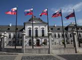 Prezidentský palác v Bratislavě, sídlo slovenské h...