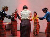 Oslavy tibetského nového roku Losar, které pořádal...