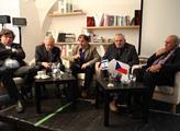 Debata k 25. výročí první cesty Václava Havla do I...