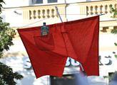 Pochod na Hradčanské náměstí, kterým iniciativa Mi...