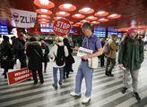 Pražský pochod Milionu chvilek pro demokracii byl ...