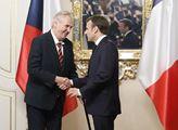 Setkání francouzského prezidenta Emmanuela Macrona...