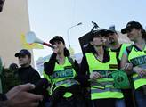 Drahé pořádkové jednotky zůstanou na Šluknovsku ještě rok