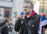 """Jaroslav Foldyna na připomínce """"ukradení Kosova"""""""
