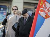 Připomínka srbského Kosova na Václavském náměstí
