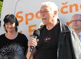 Na kampaň přijel i Richard Falbr