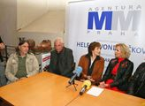 Olga Matušková a Helena Vondráčková uctily  na Vyš...